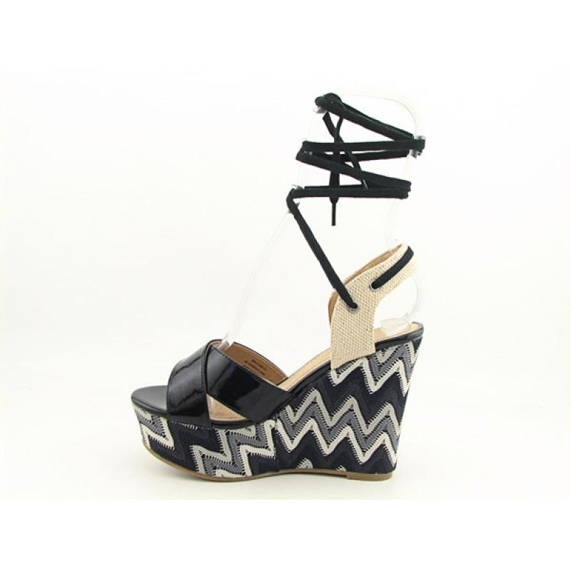 Diba Women's Dixie Land Black Sandals & Flip Flops