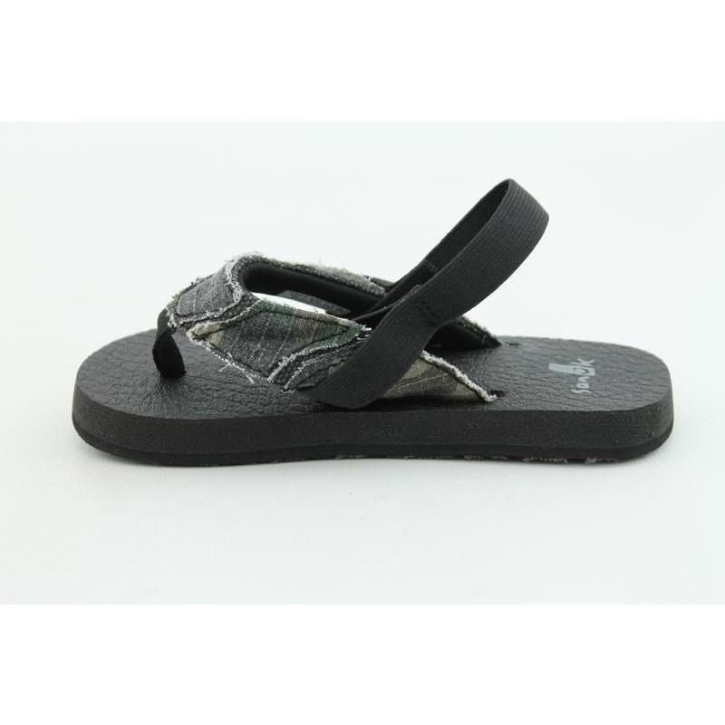 Sanuk Youth's Aftershock Green Sandals - Thumbnail 1