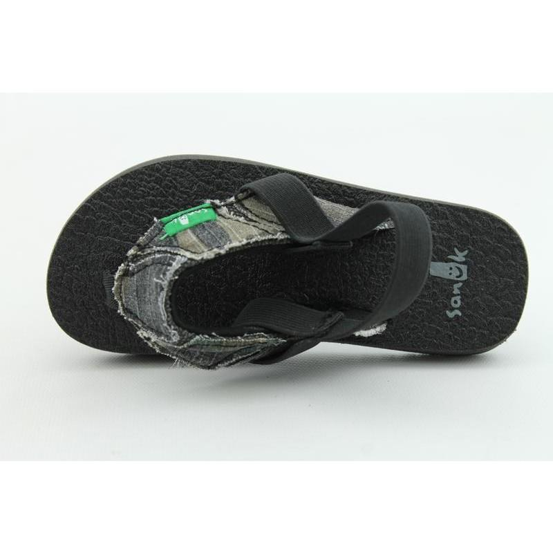 Sanuk Youth's Aftershock Green Sandals - Thumbnail 2