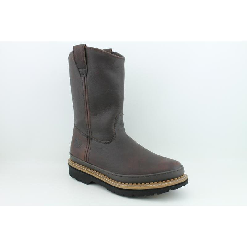 Georgia Men's Wellington Giant Brown Occupational