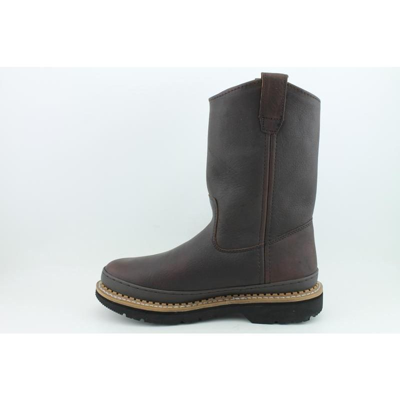 Georgia Men's Wellington Giant Brown Occupational - Thumbnail 1