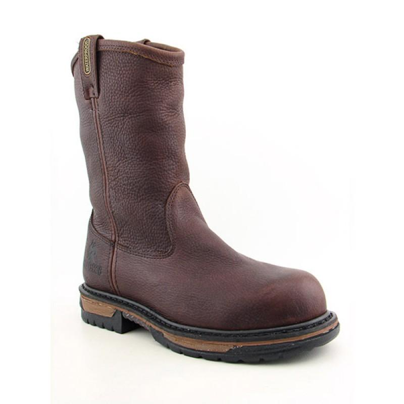 Rocky Men's 6685 Ironclad Brown Boots - Thumbnail 0