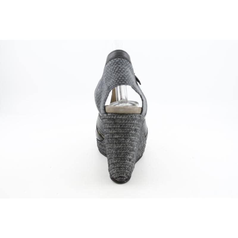 Yin Women's Panama Blacks Sandals (Size 9)
