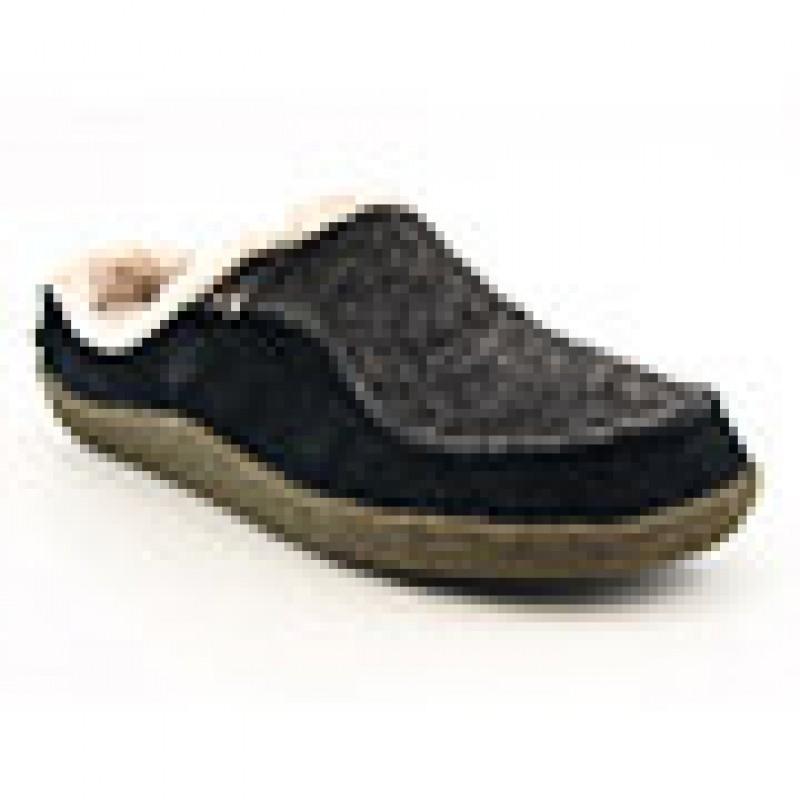 Acorn Men's Odin Brown Slippers (Size 7) - Thumbnail 2