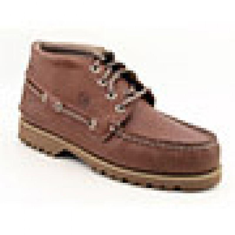 Sperry Top Sider Men's Boat Lug Chukka Brown Athletic (Size 9)