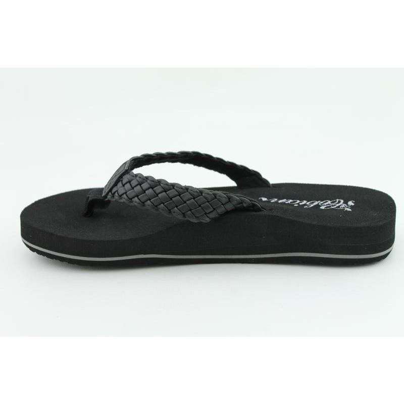 Cobian Women's Braided Bounce Black Sandals