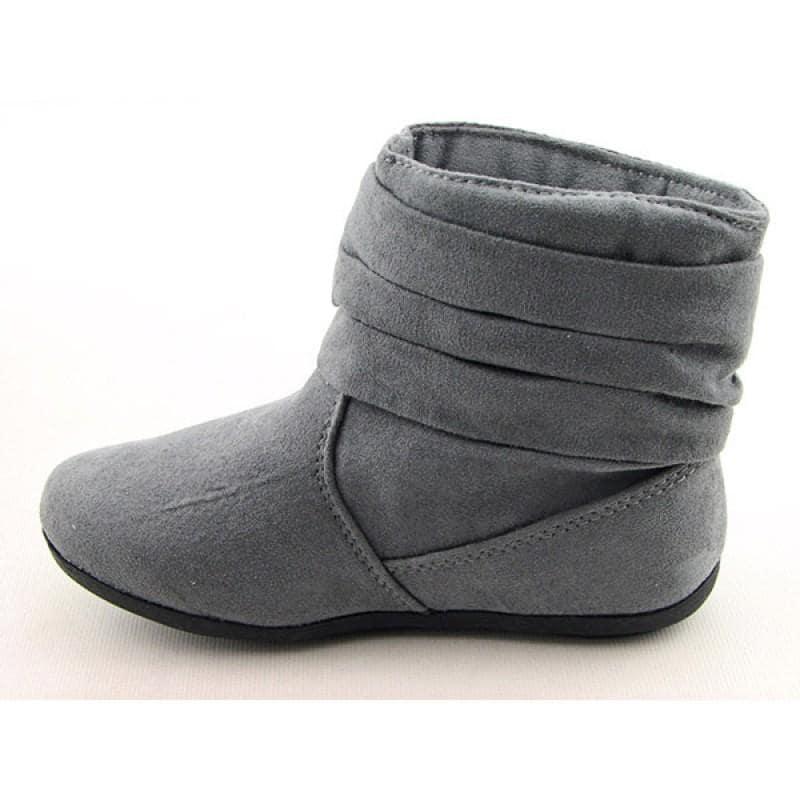 Rampage Girls Youth Kids Girls's Tiffany Gray Boots (Size 2 ...