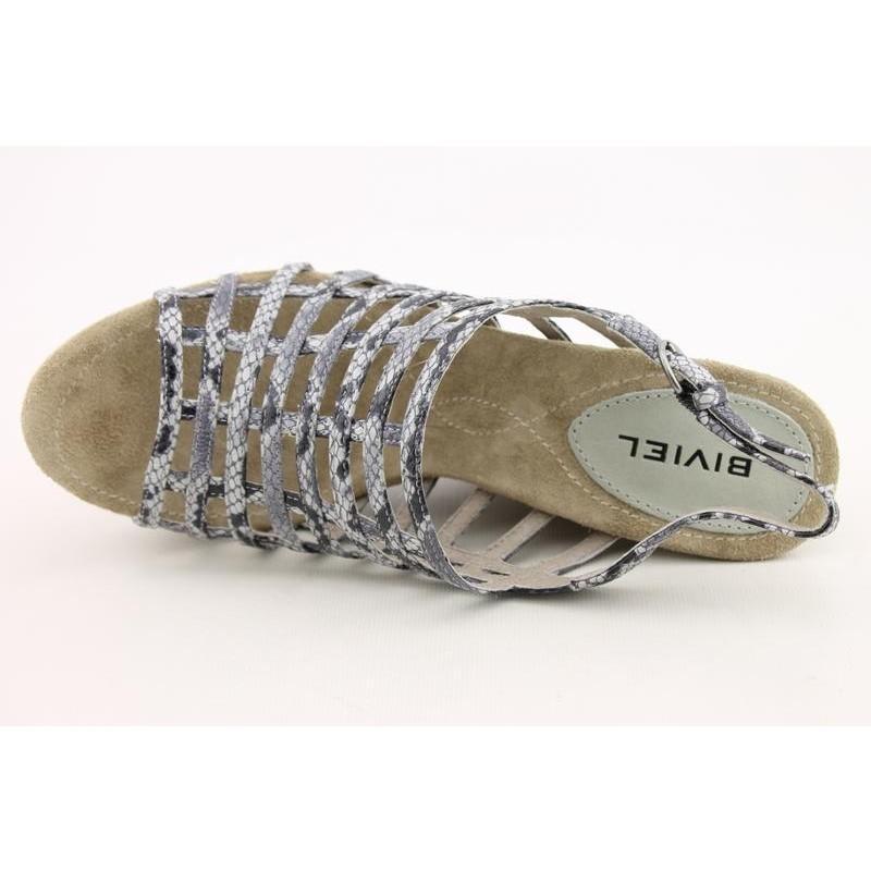 Biviel Women's BVC0070 Gray Dress Shoes (Size 9)