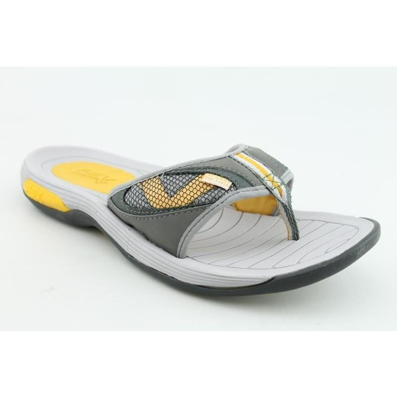 Sperry Top Sider Men's Coastal Thong Gray Sandals
