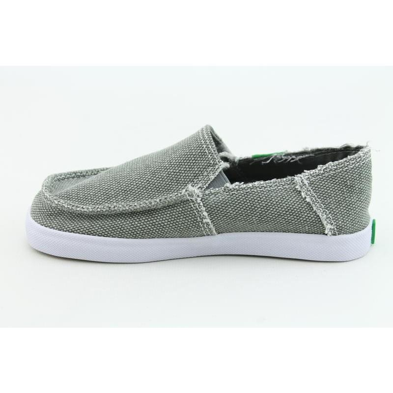 Sanuk Youth's Standard Kids Gray Casual Shoes - Thumbnail 1