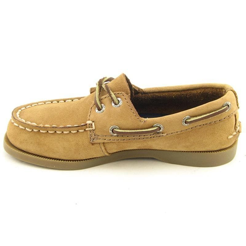 SPERRY TOP SIDER Kids's A/O 2 Eye Beige Loafers - Thumbnail 1