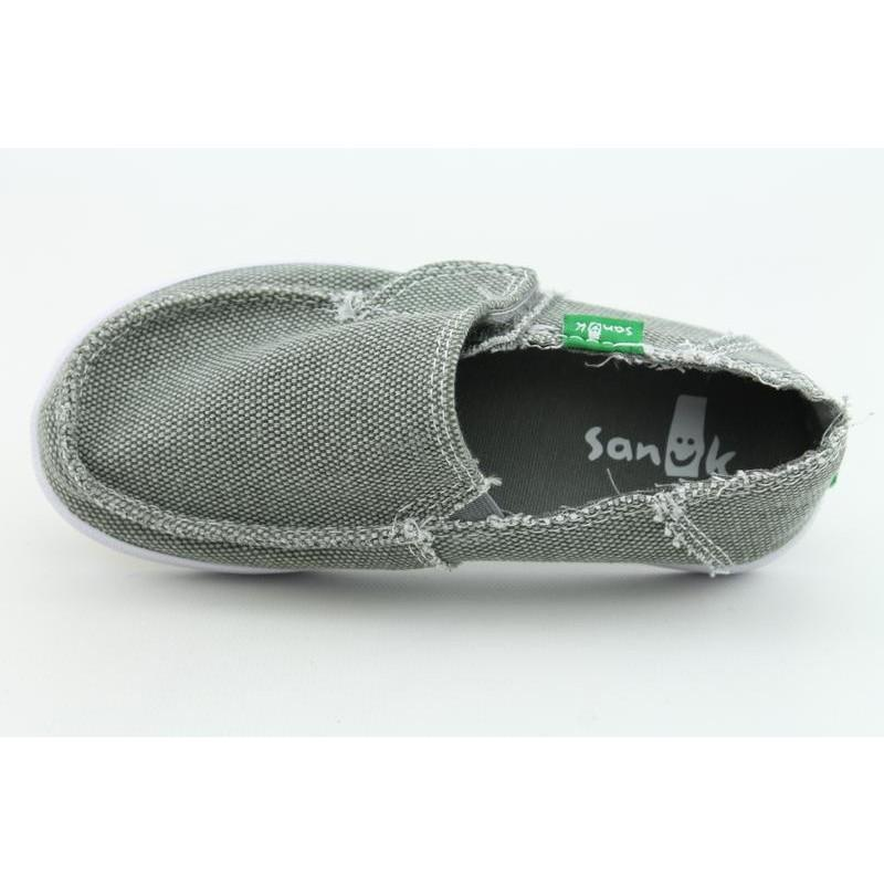 Sanuk Youth's Standard Kids Gray Casual Shoes - Thumbnail 2