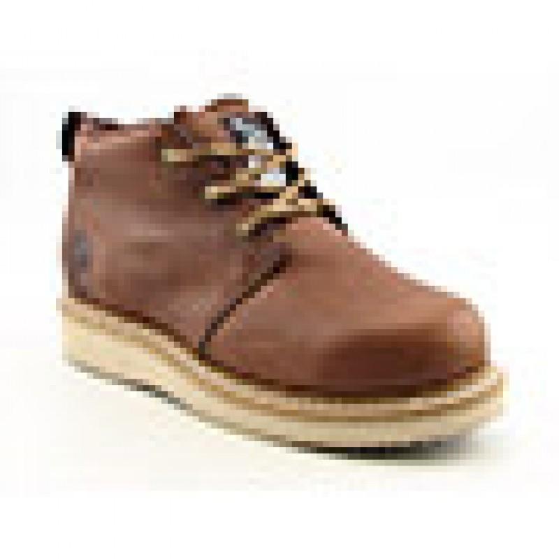 Georgia Men's GB1222 Chukka Wedge Brown Boots