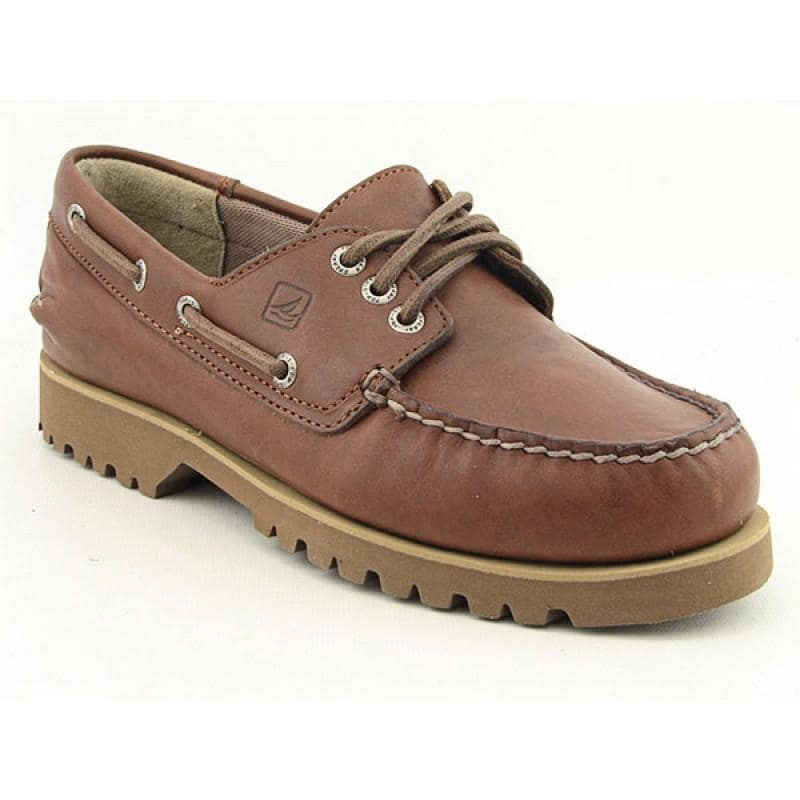 Sperry Top Sider Men's Boat Lug 3 Eye Brown Casual