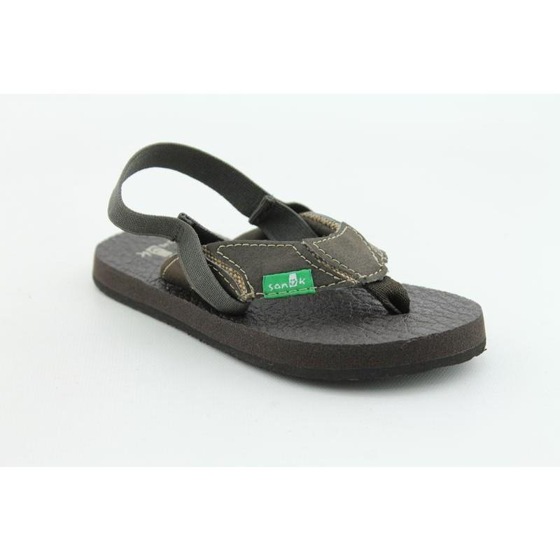 Sanuk Infant's Aftershock Brown Sandals