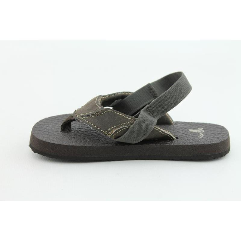 Sanuk Infant's Aftershock Brown Sandals - Thumbnail 1