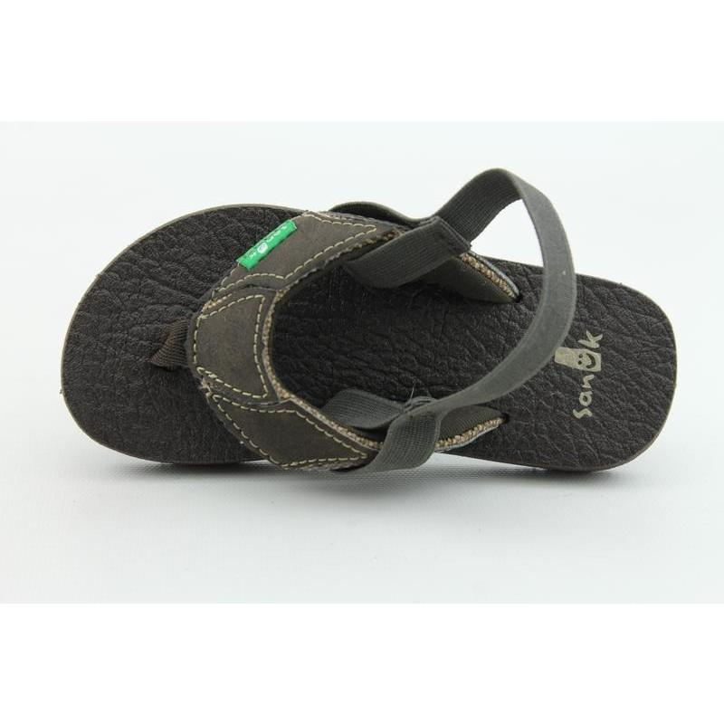 Sanuk Infant's Aftershock Brown Sandals - Thumbnail 2