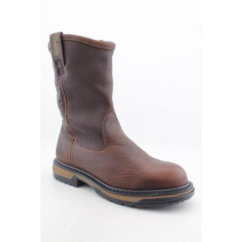 "Rocky Work 's 5685 IronCLad 10"" Pull-On Browns Boots"