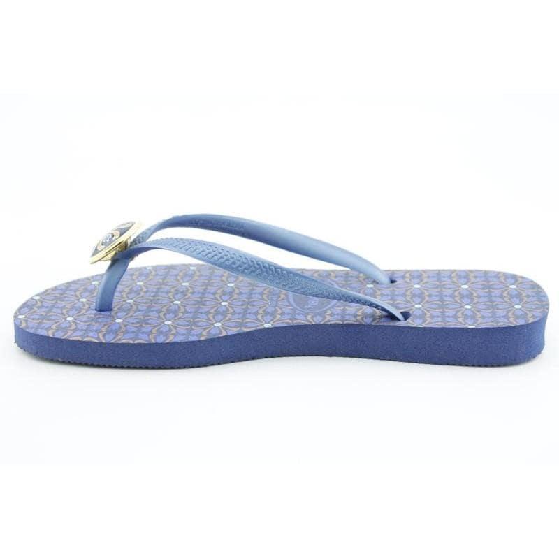 Havaianas Women's Slim Geometric Blues Sandals - Thumbnail 1