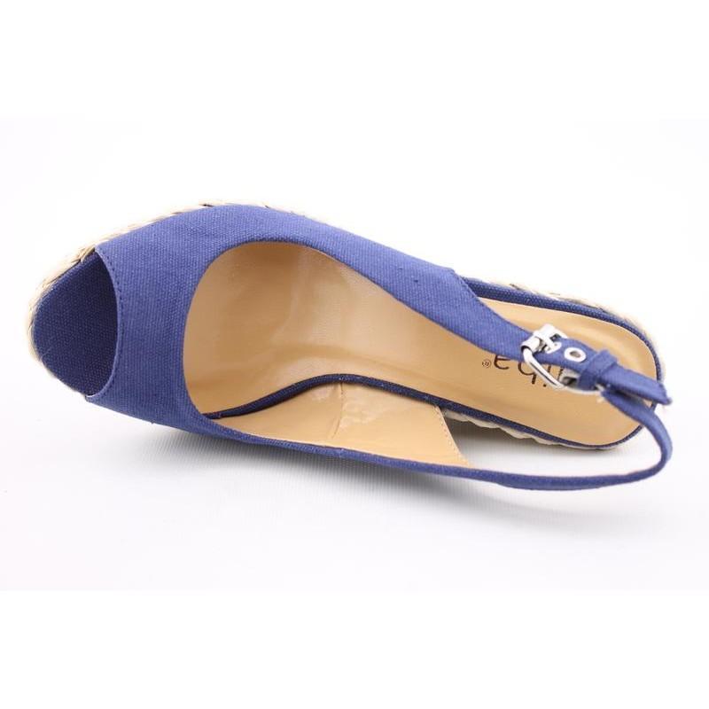 Diba Women's Day Tona Blue Sandals - Thumbnail 1