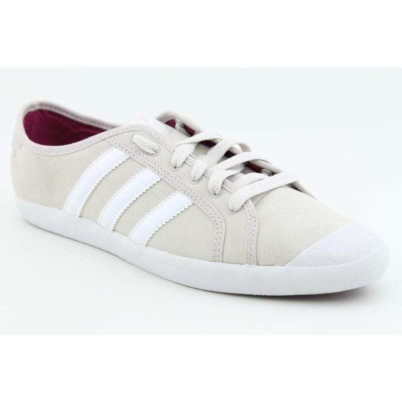 huge discount e6f1f 84a95 Shop Adidas Womens Adria Low Sleek Beige Casual Shoes - Free Shipping On  Orders Over 45 - Overstock - 6685400
