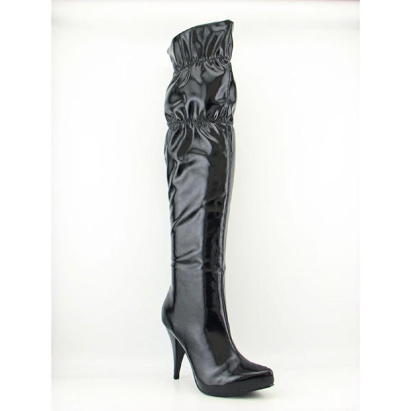 Mia Women's Midnight Black Boots (Size 6.5)