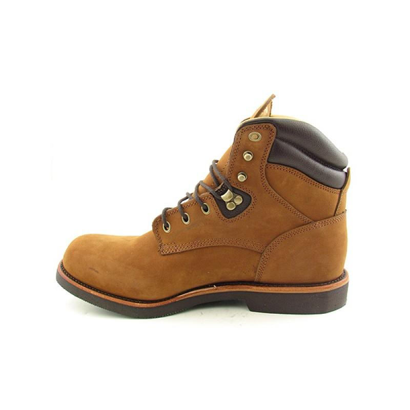 """CHIPPEWA Men's 23932 EE 6"""" Upland Lace-Up Brown Boots (Size 11.5)"""
