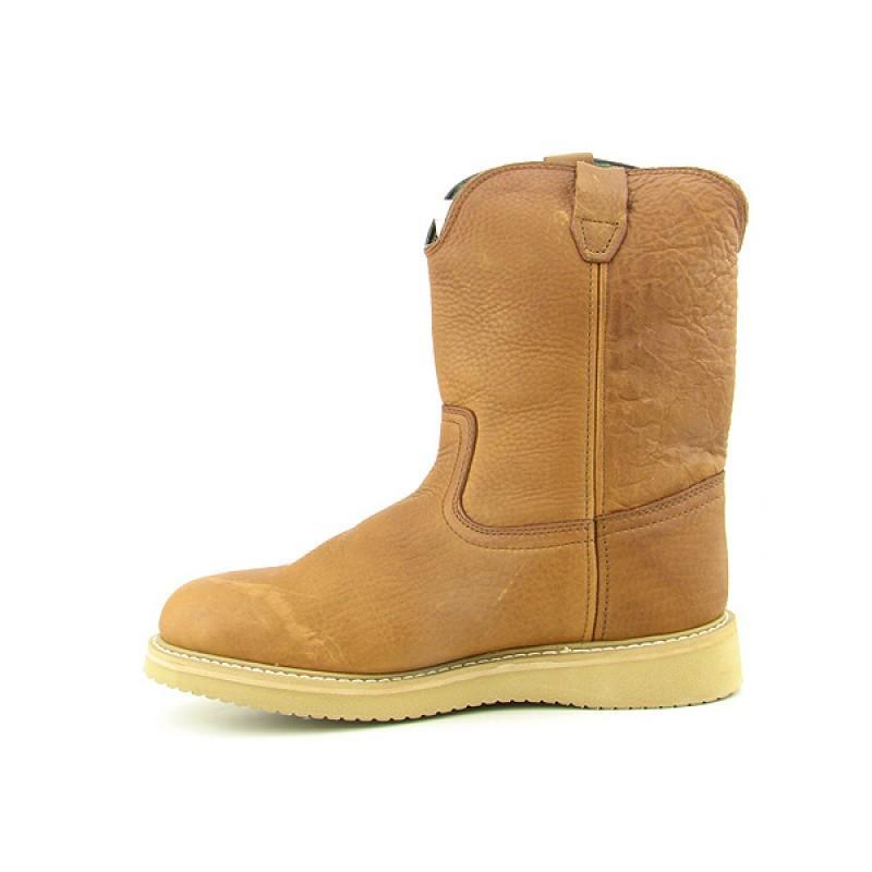 GEORGIA Men's G5153 Wellington Wedge Brown Boots (Size 13) - Thumbnail 1