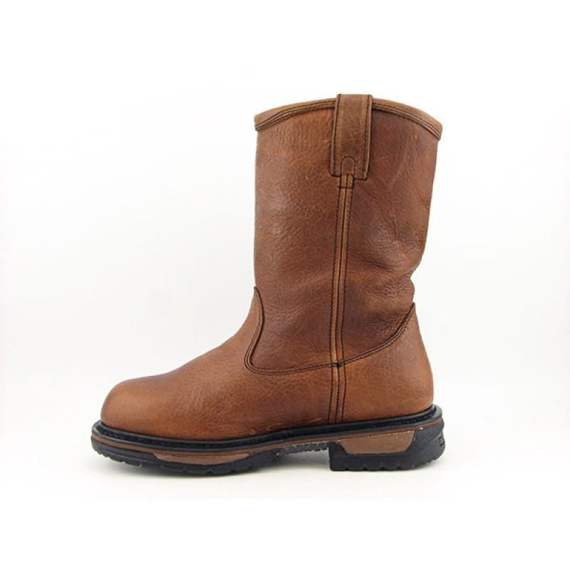 Rocky Men's 5685 Iron Clad Wellington Brown Boots