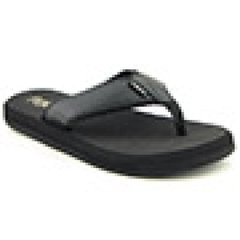 FLOJOS Men's Cole II Black Sandals
