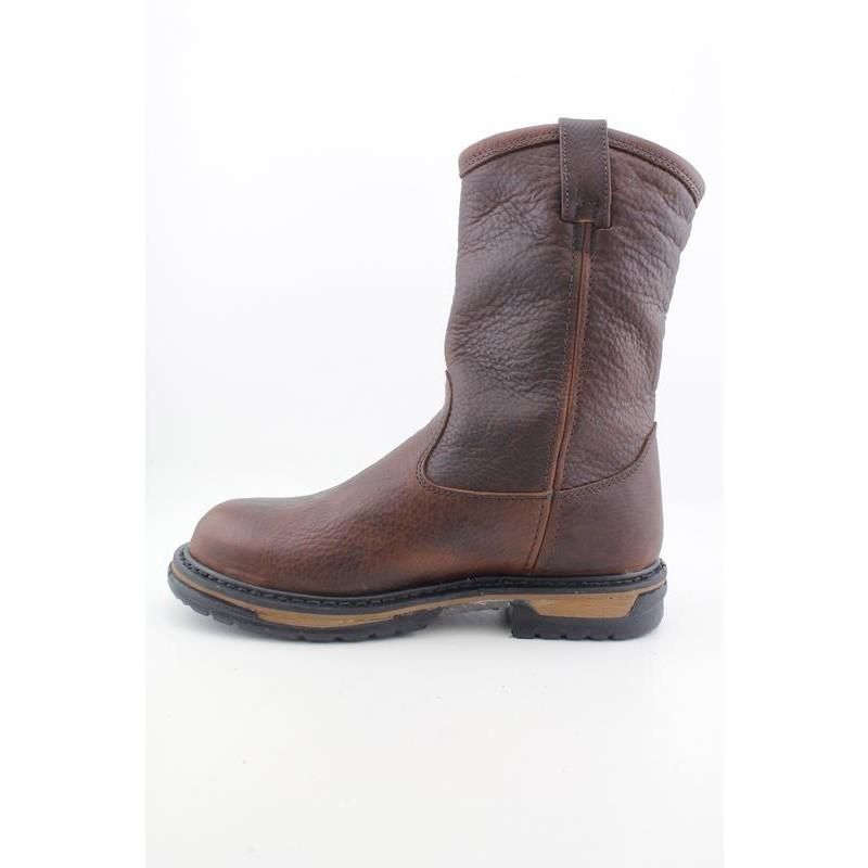 "Rocky Work 's 5685 IronCLad 10"" Pull-On Browns Boots - Thumbnail 1"