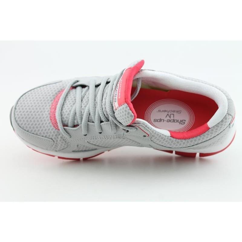 Skechers Shape-Ups Women's Liv-Fearless Grays Casual Shoes - Thumbnail 2