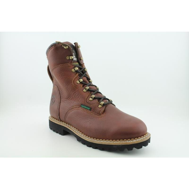 "Georgia Men's G8198 8"" Hammer WP400g Renegade Browns Boots"