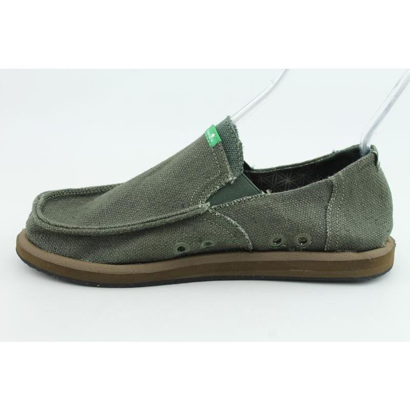 Sanuk Men's Rasta Pouch Green Casual Shoes