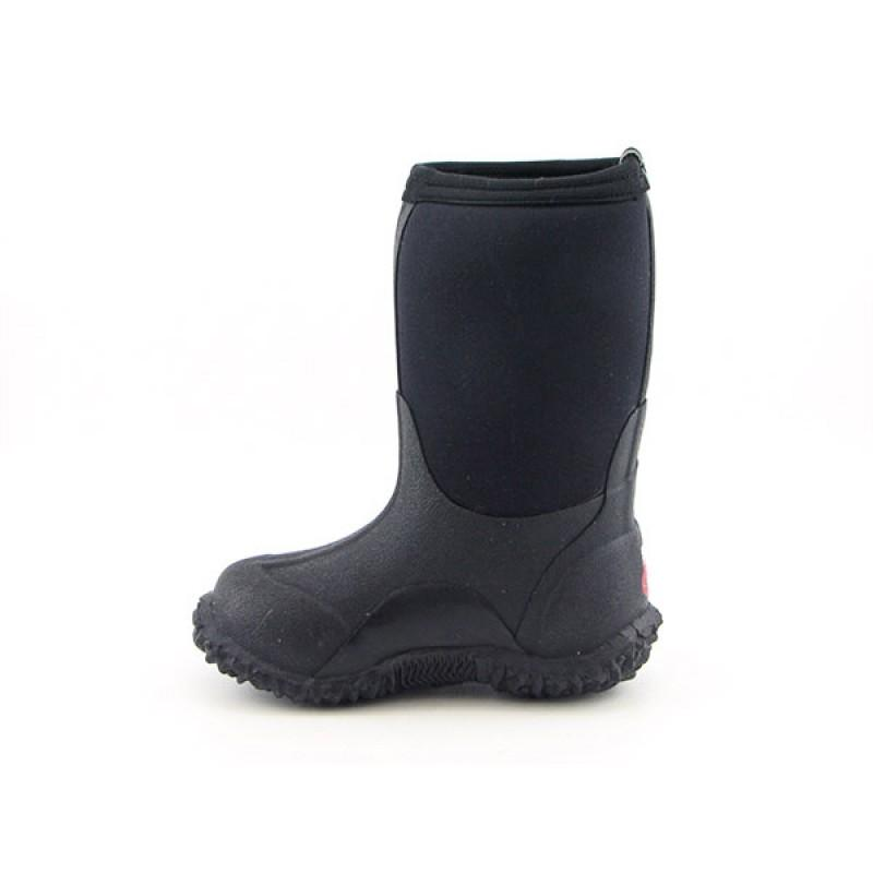 BOGS Infants Baby Toddler's Classic High No Handle Black Boots - Thumbnail 1