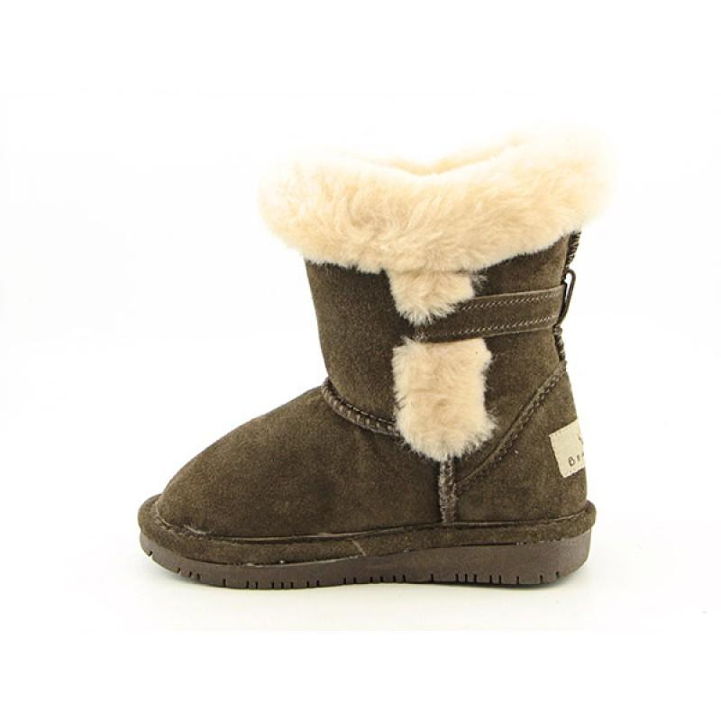 Bearpaw Infants Baby Toddler's Halle Brown Boots