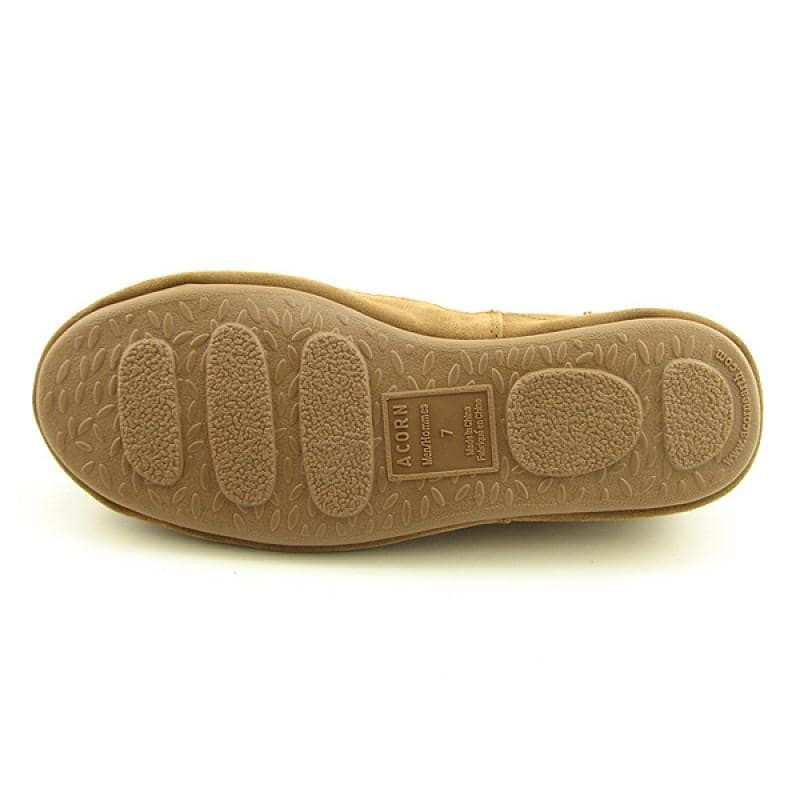 Acorn Men's Romeo II Brown Slippers - Thumbnail 1