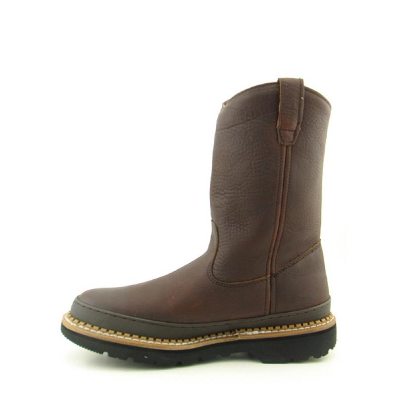 GEORGIA Men's G4274 Wellington Giant Brown Boots - Thumbnail 1