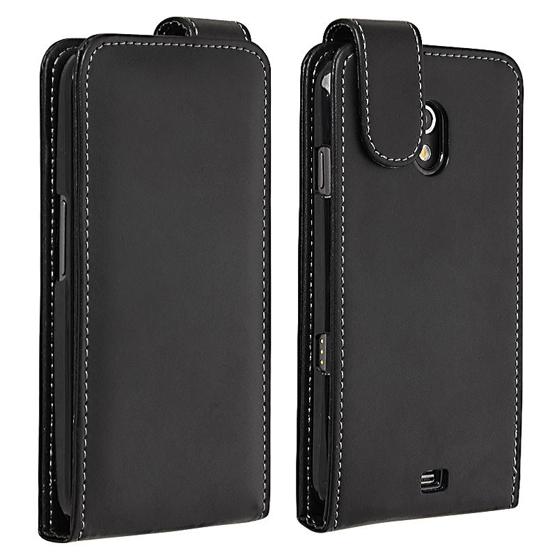 Black Leather Case for Samsung Galaxy Nexus i9250