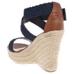 Riverberry Women's 'Leanne' Wedge Sandals - Thumbnail 1