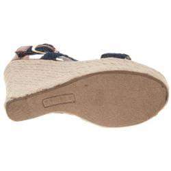 Riverberry Women's 'Leanne' Wedge Sandals - Thumbnail 2