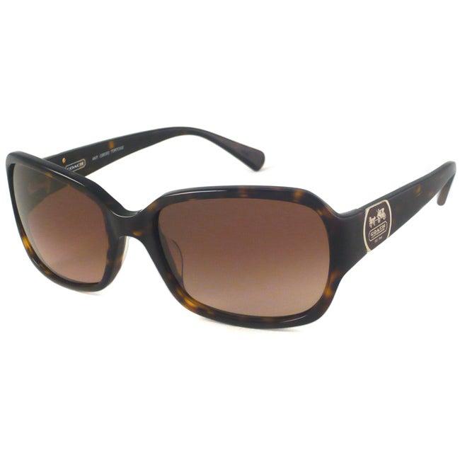 Coach Amy Women's Rectangular Sunglasses