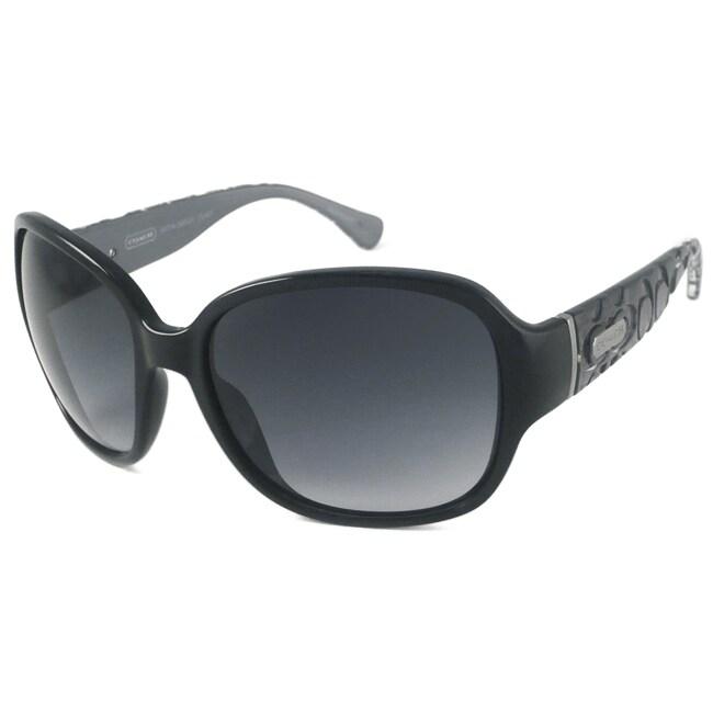 Coach Katya Women's Wrap Sunglasses