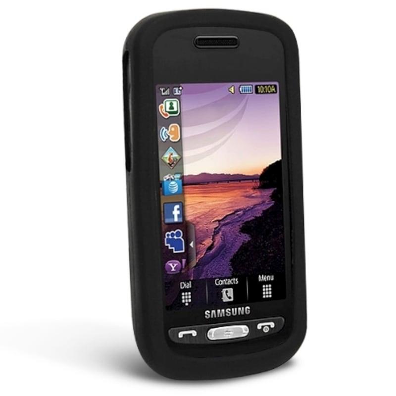 BasAcc Silicone Skin Case Set for Samsung Solstice A887 (Set of 4)