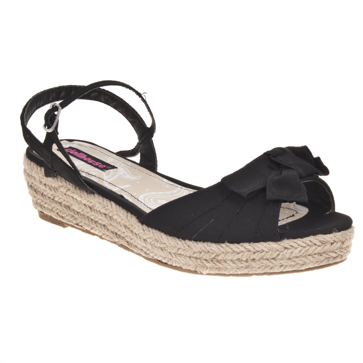 Riverberry Women's 'Quiche' Bow-detail Wedge Sandals