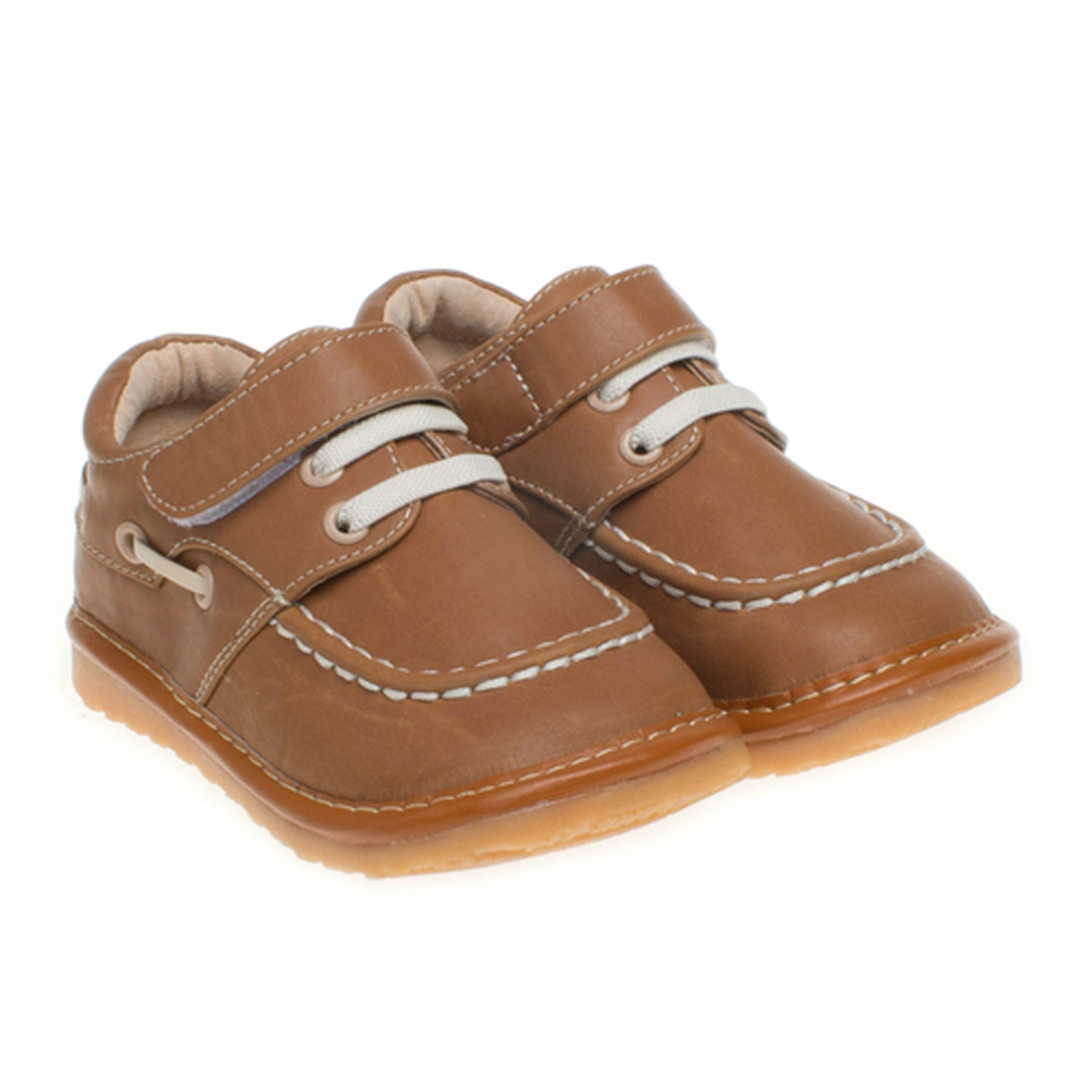 Little Blue Lamb Toddler SQ Series Camel Squeaky Shoes