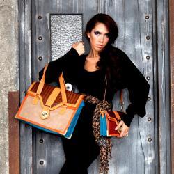 Nicole Lee Women's Haddie Faux Croc 16-inch Briefcase