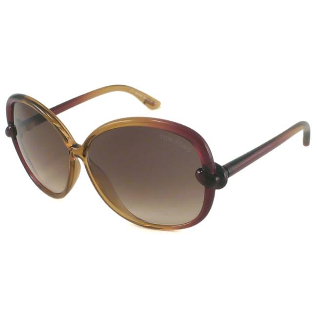Tom Ford TF163 Ingrid Women's Oversize Sunglasses