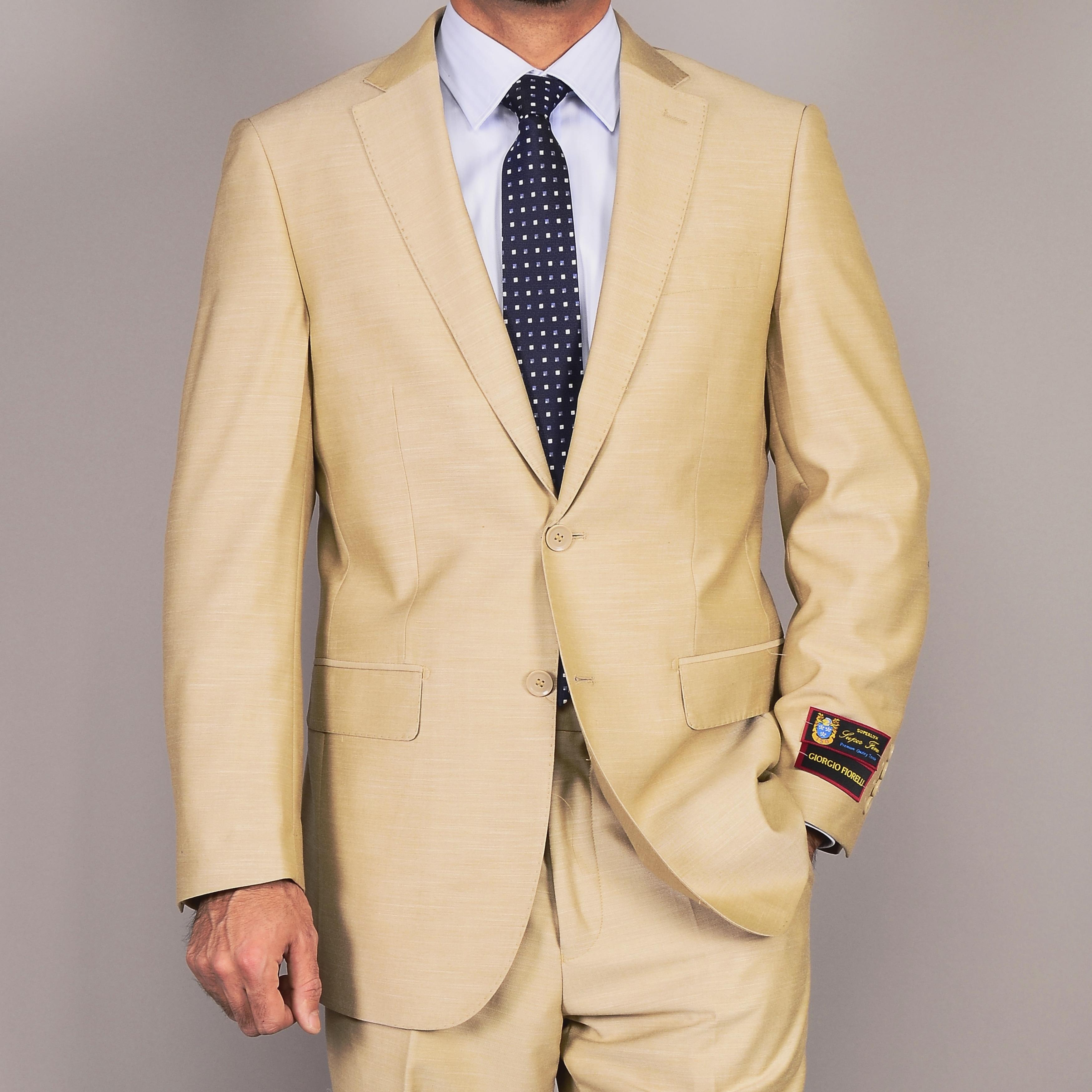 Tan 2-Button Suit