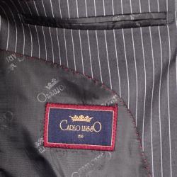 Gray Stripe 3-Button Suit - Thumbnail 2